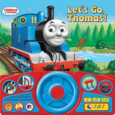 Thomas & Friends: Let's Go Thomas Steering Wheel Sound Book  -