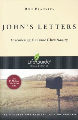 John's Letters, LifeGuide Scripture Bible Studies  -     By: Ron Blankley