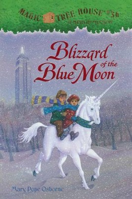 Magic Tree House #36: Blizzard of Blue Moon  -     By: Mary Pope Osborne     Illustrated By: Sal Murdocca