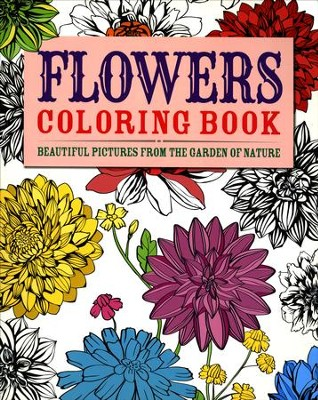 Flowers Coloring Book  -