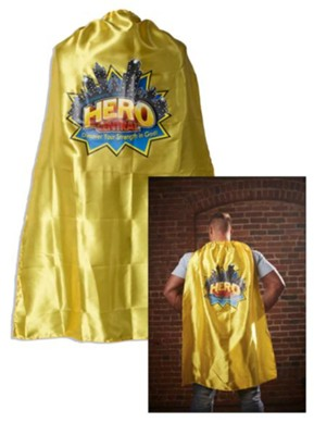 VBS 2017 Hero Central: Discover Your Strength in God! - Adult Cape with Logo  -