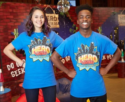 VBS 2017 Hero Central: Discover Your Strength in God! - Leader T-Shirt Size XL  -