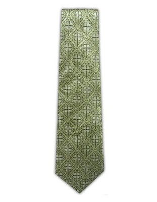 Fancy Cross Silk Tie   -