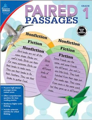 Paired Passages, Grade 1  -