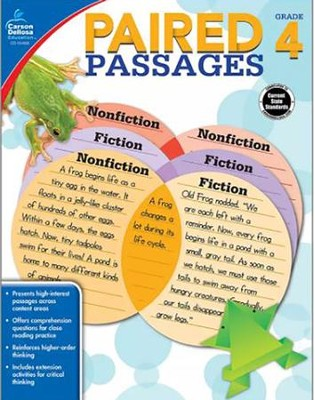 Paired Passages, Grade 4  -