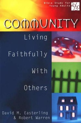20/30 Bible Study for Young Adults: Community   -     By: David M. Easterling, Robert Warren