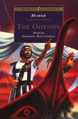 The Odyssey   -     Edited By: Geraldine McCaughrean     By: Homer     Illustrated By: Victor Ambrus