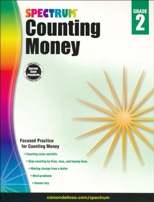 Spectrum Counting Money, Grade 2  -