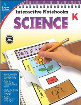 Interactive Notebooks Science, Grade K  -