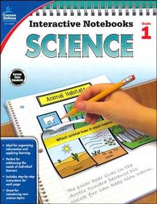 Interactive Notebooks Science, Grade 1  -