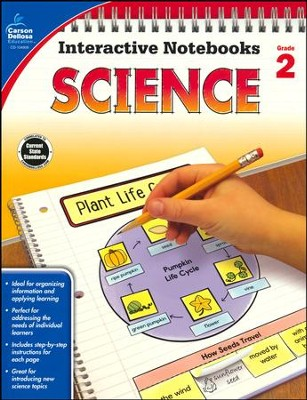 Interactive Notebooks Science, Grade 2  -