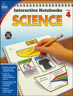 Interactive Notebooks Science, Grade 4  -