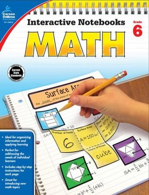 Interactive Notebooks Math, Grade 6  -