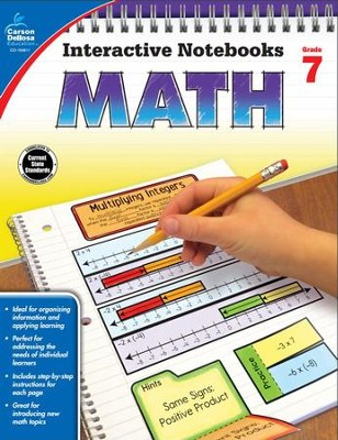 Interactive Notebooks Math, Grade 7  -