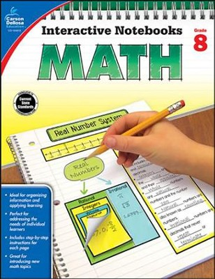 Interactive Notebooks Math, Grade 8  -