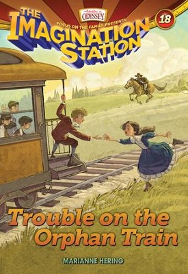 Trouble on the Orphan Train - eBook  -     By: Marianne Hering
