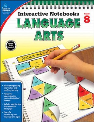Interactive Notebooks Language Arts, Grade 8  -