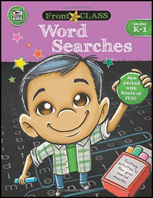 Front of the Class Word Searches, Grades K-1  -