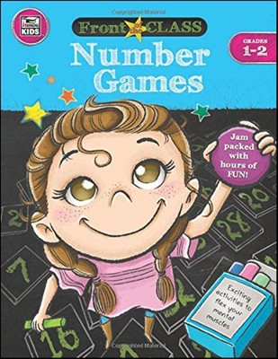 Front of the Class Number Games, Grades 1-2  -