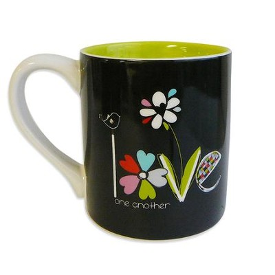 Love One Another Mug  -     By: Amylee Weeks
