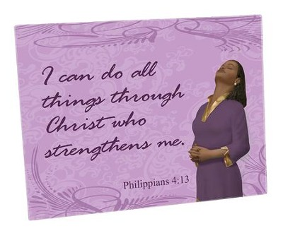 I Can Do All things Through Christ Cutting Board  -