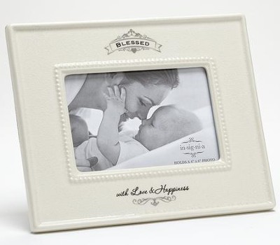 Blessed With Love and Happiness Photo Frame  -