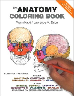 The Anatomy Coloring Book (4th Edition)   -     By: Wynn Kapit, Lawrence M. Elson