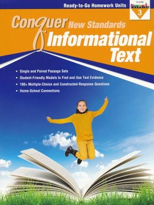 Conquer New Standards Informational Text Grade 3   -