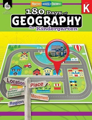 180 Days of Geography for Kindergarten   -