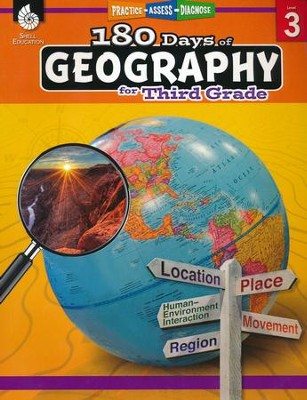 180 Days of Geography for Third Grade   -     By: Saskia Lacey