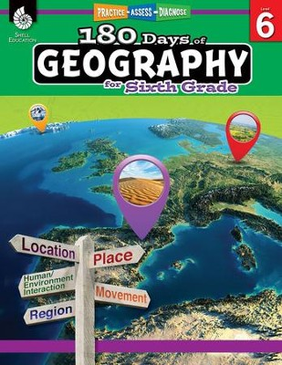 180 Days of Geography for Sixth Grade   -
