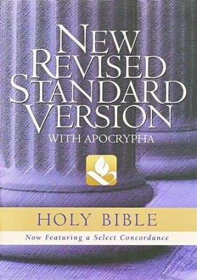 NRSV Text Edition With Apocrypha Hardcover, blue w/jacket  -