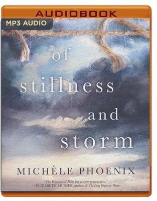 Of Stillness and Storm - unabridged audio book on MP3-CD  -     By: Michele Phoenix