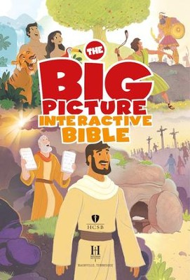 The Big Picture Interactive Bible for Kids: Connecting Christ Throughout God's Story - eBook  -