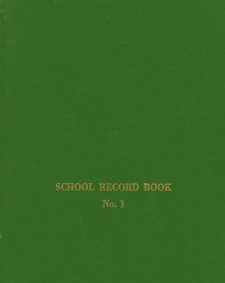 Sunday School Record Book--No. 1  -