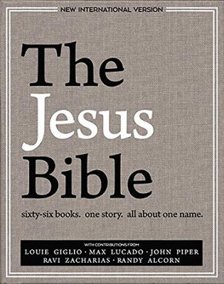 NIV Edition, The Jesus Bible, eBook / Special edition   -     Edited By: Passion Publishing     By: Louie Giglio, Max Lucado, Ravi Zacharias, John Piper