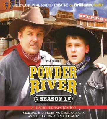Powder River - Season One: A Radio Dramatization on CD  -     By: Jerry Robbins