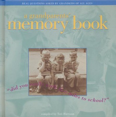 Grandparent's Memory Book  -
