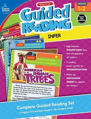 Ready to Go Guided Reading: Infer, Grades 1-2   -