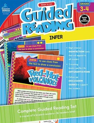 Ready to Go Guided Reading: Infer, Grades 3-4   -
