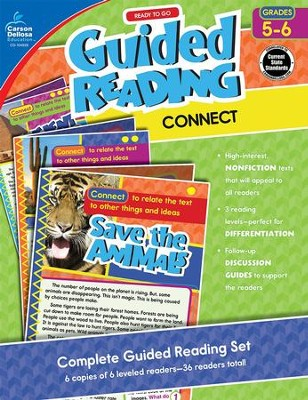 Ready to Go Guided Reading: Connect, Grades 5-6   -