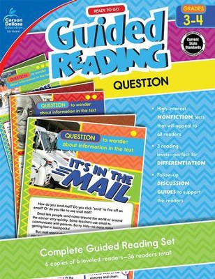 Guided Reading: Question, Grades 3-4   -