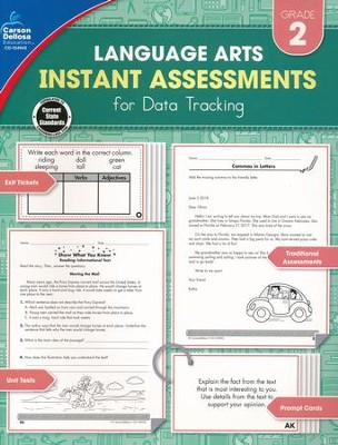 Language Arts Instant Assessments for Data Tracking, Grade 2  -