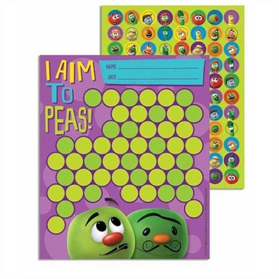 VeggieTales Mini Reward Charts with Stickers   -
