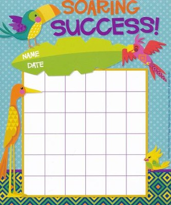 You-Can Toucan Mini Reward Charts with Stickers   -