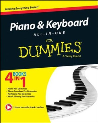 Piano and Keyboard All-in-One For Dummies  -
