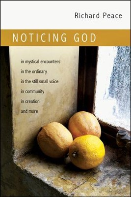 Noticing God  -     By: Richard Peace