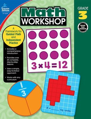 Math Workshop, Grade 3: A Framework for Guided Math and Independent Practice  -     By: Erin McCarthy