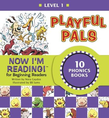 Now I'm Reading! Level 1: Playful Pals - eBook  -     By: Nora Gaydos