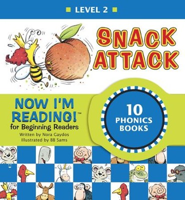Now I'm Reading! Level 2: Snack Attack - eBook  -     By: Nora Gaydos